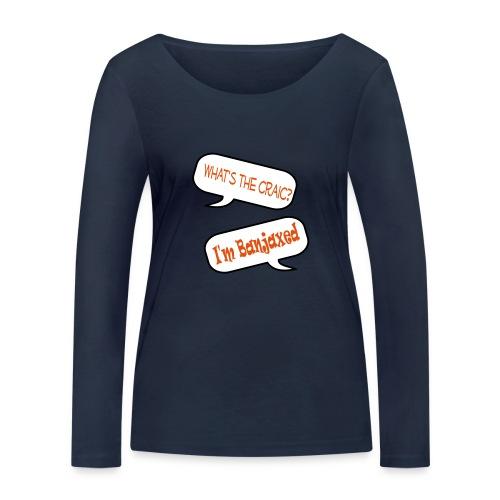 craic banjaxed - Women's Organic Longsleeve Shirt by Stanley & Stella