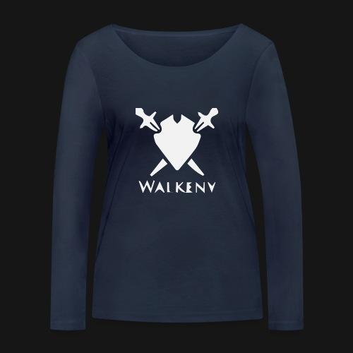 Walkeny Schwert Logo! - Frauen Bio-Langarmshirt von Stanley & Stella