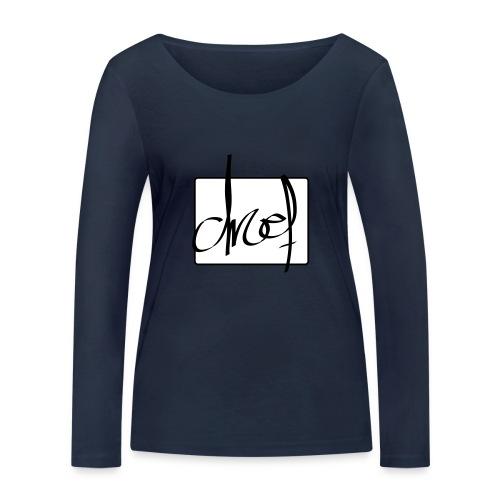 Droef.Gent logo zwart - Vrouwen bio shirt met lange mouwen van Stanley & Stella