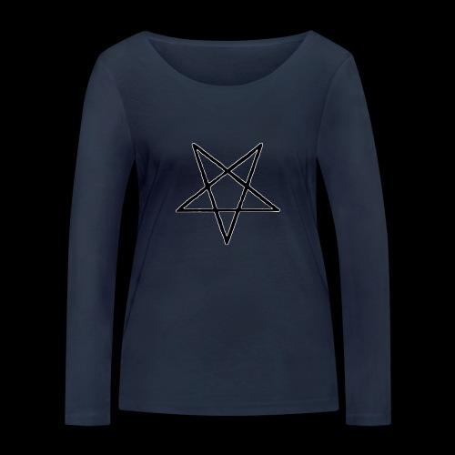 Pentagram4 png - Frauen Bio-Langarmshirt von Stanley & Stella