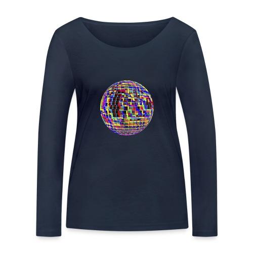 Boule à facettes psychédélique - T-shirt manches longues bio Stanley & Stella Femme