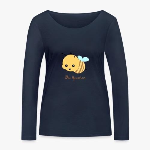 Bee Yourself - Økologisk Stanley & Stella langærmet T-shirt til damer