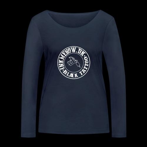 logo hvid png - Økologisk Stanley & Stella langærmet T-shirt til damer