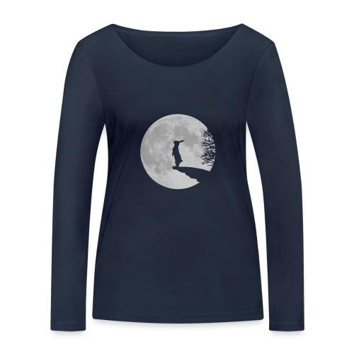 rabbit_wolf-png - Women's Organic Longsleeve Shirt by Stanley & Stella