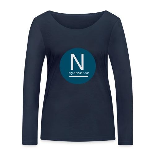 Nyanser.se mugg - Ekologisk långärmad T-shirt dam från Stanley & Stella