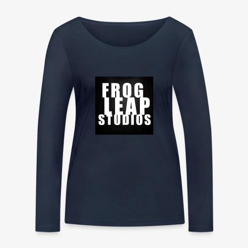 FLS Logo - Økologisk langermet T-skjorte for kvinner fra Stanley & Stella