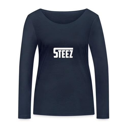 Steez tshirt name - Vrouwen bio shirt met lange mouwen van Stanley & Stella