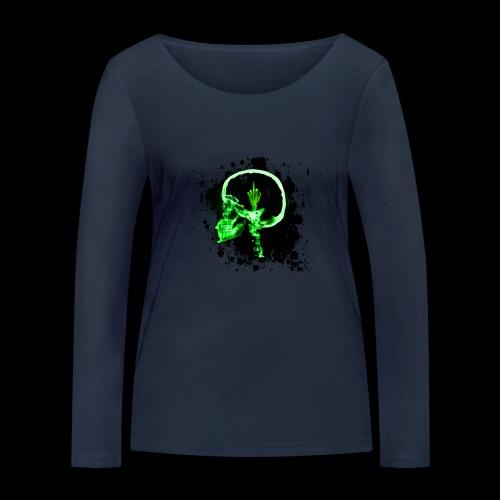Necro LOGO - Frauen Bio-Langarmshirt von Stanley & Stella
