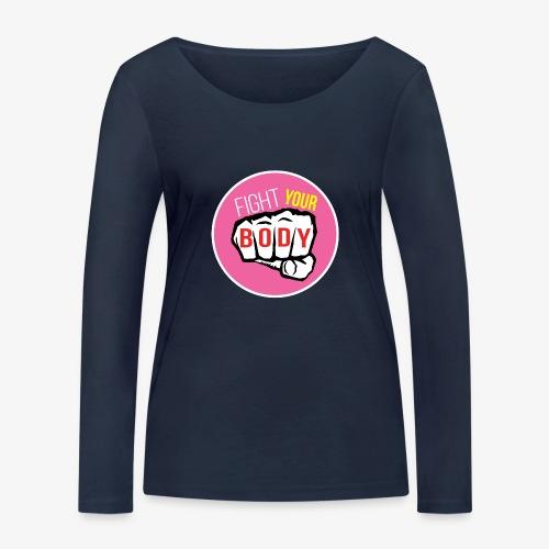 logo fyb rose - T-shirt manches longues bio Stanley & Stella Femme