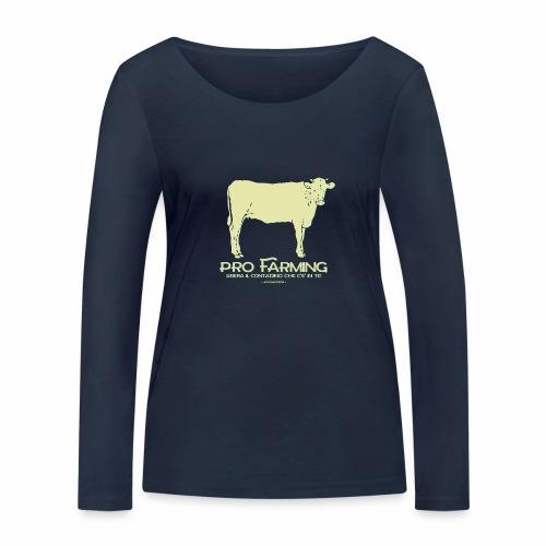 PRO Farming - Maglietta a manica lunga ecologica da donna di Stanley & Stella