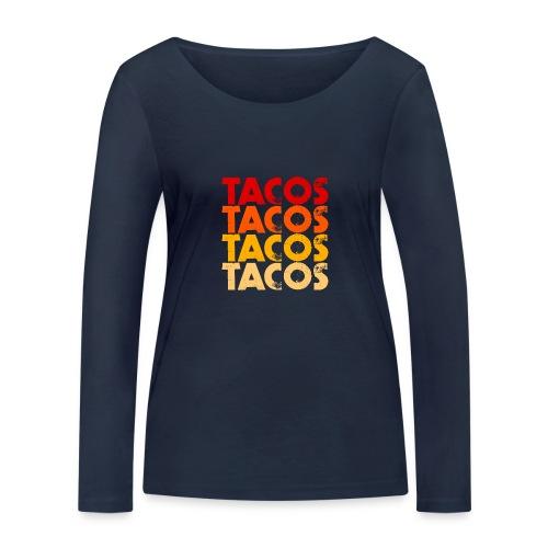 Tacos - Frauen Bio-Langarmshirt von Stanley & Stella