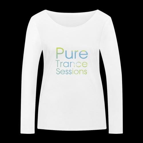 pts text hd - Women's Organic Longsleeve Shirt by Stanley & Stella
