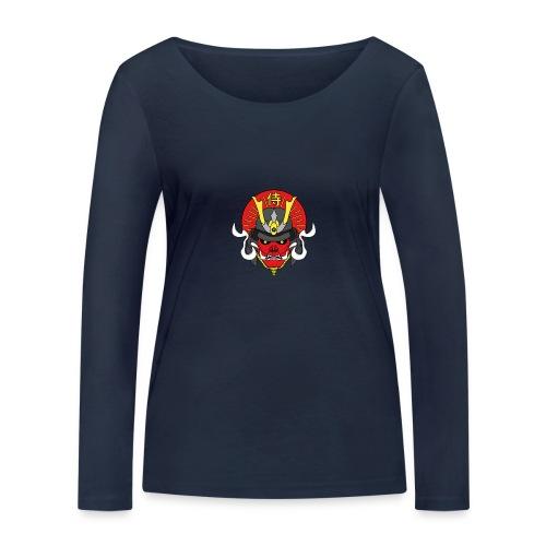 Samouraï Casque Démon - T-shirt manches longues bio Stanley & Stella Femme