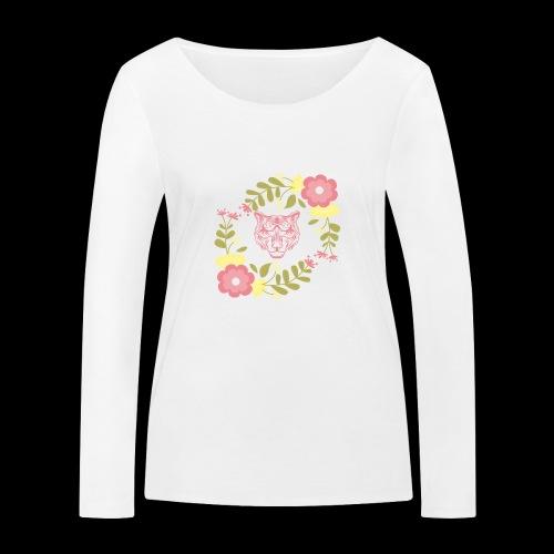 Tee-shirt TIGRE - T-shirt manches longues bio Stanley & Stella Femme