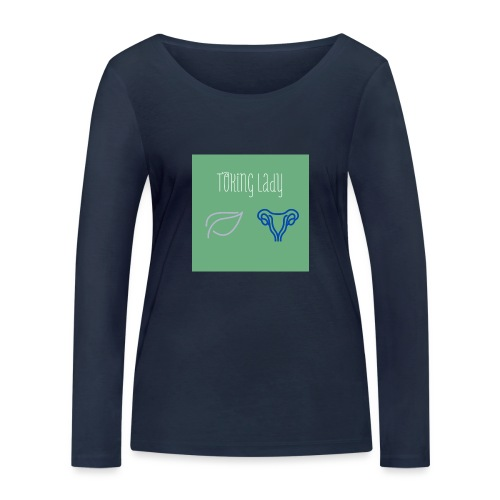 Toking Lady - Women's Organic Longsleeve Shirt by Stanley & Stella