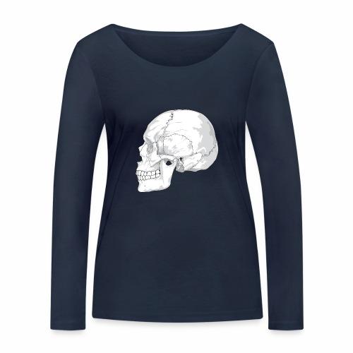 Schädel - Frauen Bio-Langarmshirt von Stanley & Stella