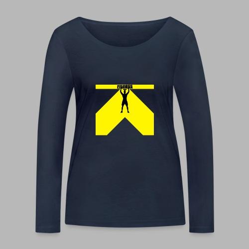 Fitness Lift - Frauen Bio-Langarmshirt von Stanley & Stella