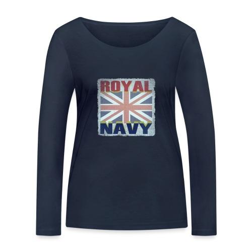 ROYAL NAVY - Women's Organic Longsleeve Shirt by Stanley & Stella
