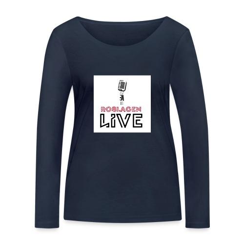 Roslagen Live - Ekologisk långärmad T-shirt dam från Stanley & Stella
