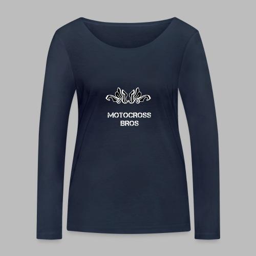 Motocrossbros - Ekologisk långärmad T-shirt dam från Stanley & Stella