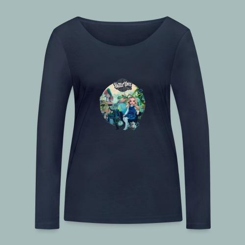 Letting Go Merch - Vrouwen bio shirt met lange mouwen van Stanley & Stella