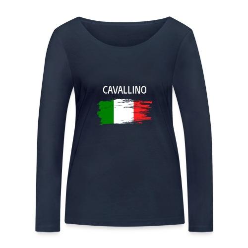 Cavallino Fanprodukte - Frauen Bio-Langarmshirt von Stanley & Stella