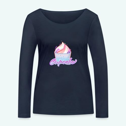 Cupcake - Frauen Bio-Langarmshirt von Stanley & Stella