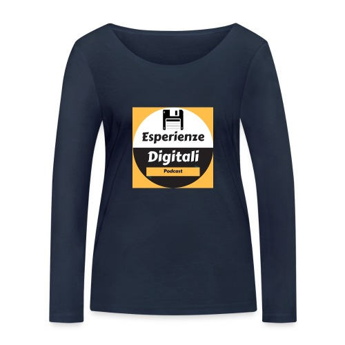 Logo Esperienze Digitali - Maglietta a manica lunga ecologica da donna di Stanley & Stella