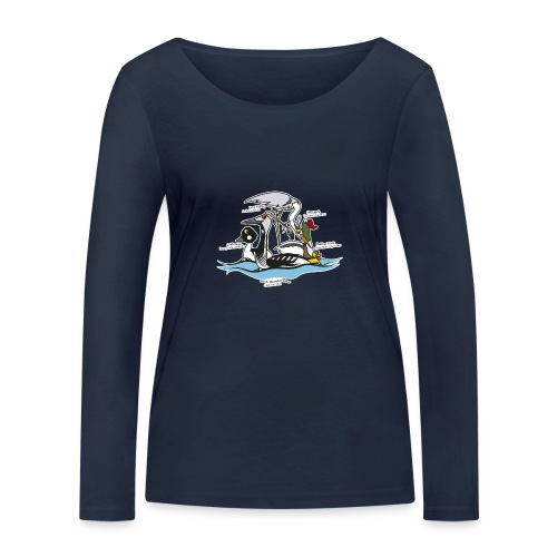 Birds of a Feather - Women's Organic Longsleeve Shirt by Stanley & Stella