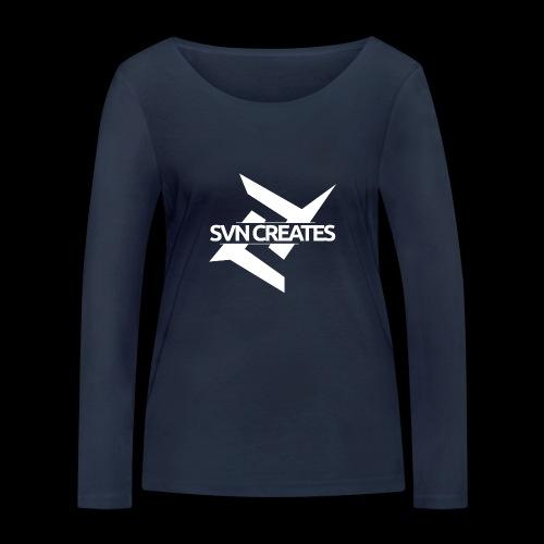 SVN Shirt logo 1 png - Vrouwen bio shirt met lange mouwen van Stanley & Stella