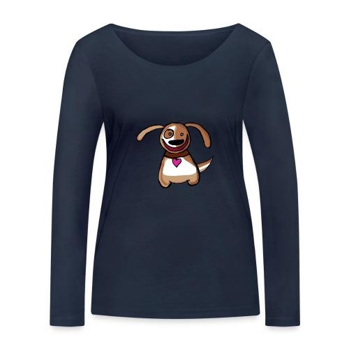 Titou le chien - T-shirt manches longues bio Stanley & Stella Femme