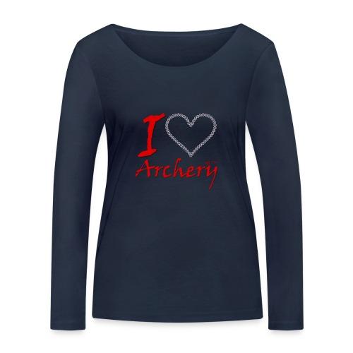 Archery Love - Frauen Bio-Langarmshirt von Stanley & Stella
