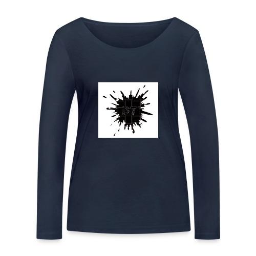 Blacktuber Splash Logo - Vrouwen bio shirt met lange mouwen van Stanley & Stella