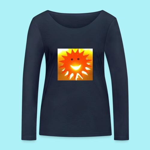 Soleil Souriant - T-shirt manches longues bio Stanley & Stella Femme