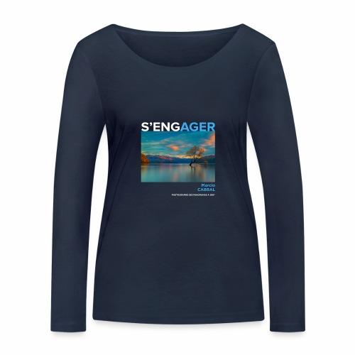 1 Achat = 1 Don à la Fondation Surf Rider Europe - T-shirt manches longues bio Stanley & Stella Femme