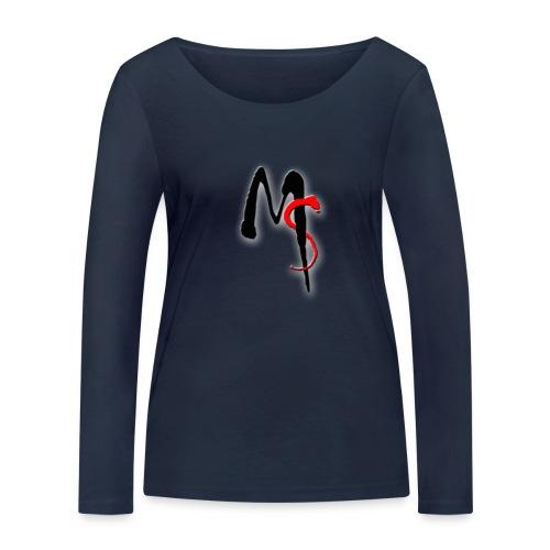 MileStone logo2 - Vrouwen bio shirt met lange mouwen van Stanley & Stella