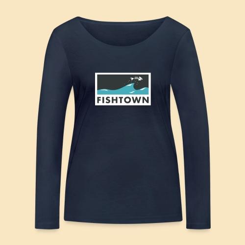 Fishtown Welle - Frauen Bio-Langarmshirt von Stanley & Stella