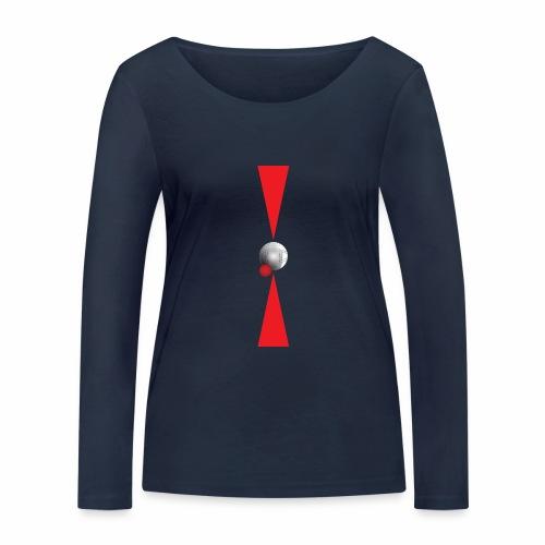Petanque Minimalisme - T-shirt manches longues bio Stanley & Stella Femme