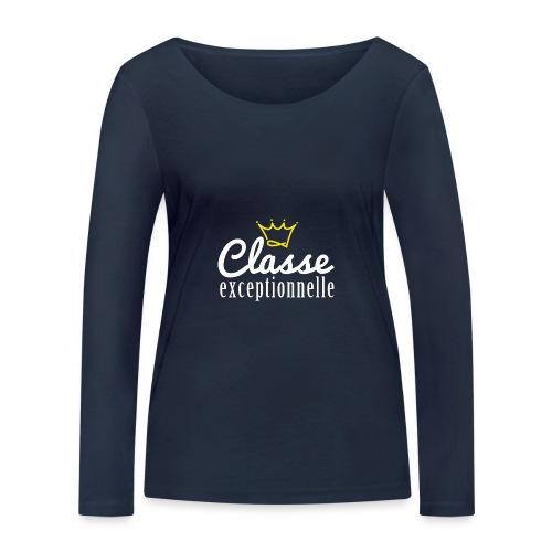 Classe exceptionnelle - T-shirt manches longues bio Stanley & Stella Femme