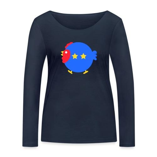 COQ 2 ETOILES - T-shirt manches longues bio Stanley & Stella Femme