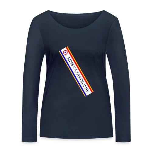 Miss Catastrophe - T-shirt manches longues bio Stanley & Stella Femme