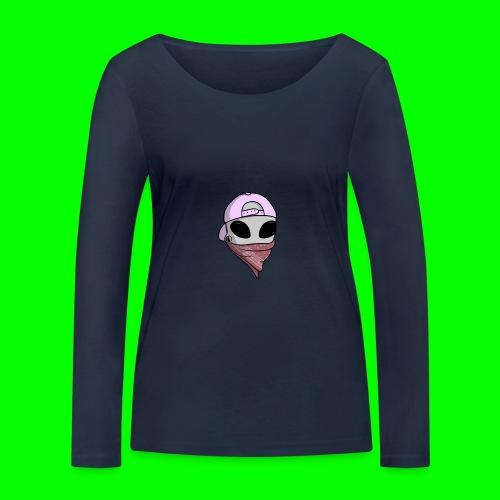 gangsta alien logo - Maglietta a manica lunga ecologica da donna di Stanley & Stella