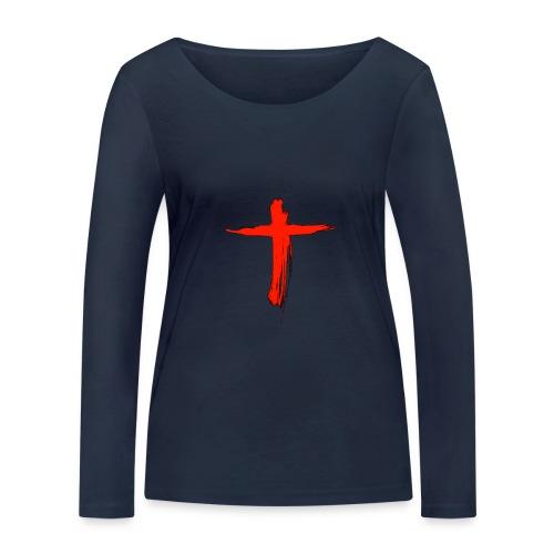 the cross - Camiseta de manga larga ecológica mujer de Stanley & Stella