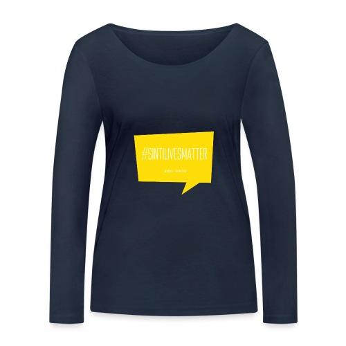 Sinti Lives Matter - Frauen Bio-Langarmshirt von Stanley & Stella