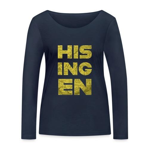 Hisingens Karta - Ekologisk långärmad T-shirt dam från Stanley & Stella