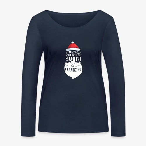 Il regalo di Natale perfetto - Maglietta a manica lunga ecologica da donna di Stanley & Stella