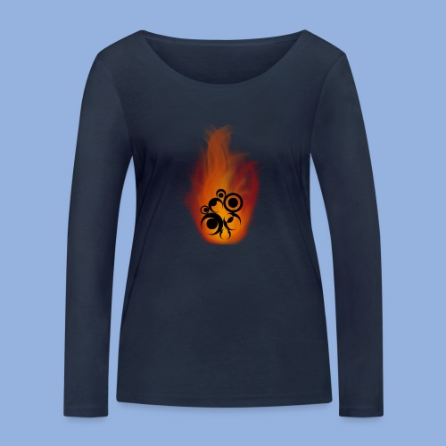 Should I stay or should I go Fire - T-shirt manches longues bio Stanley & Stella Femme