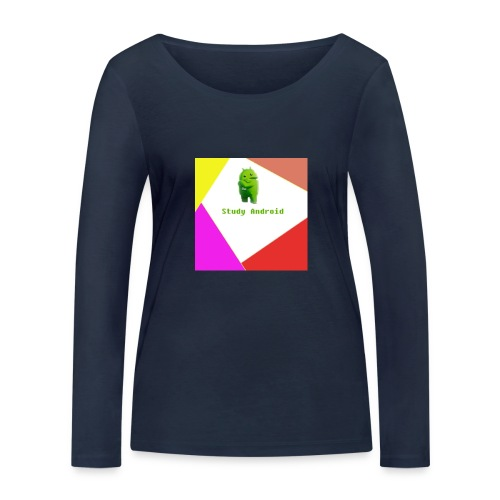 Study Android - Camiseta de manga larga ecológica mujer de Stanley & Stella