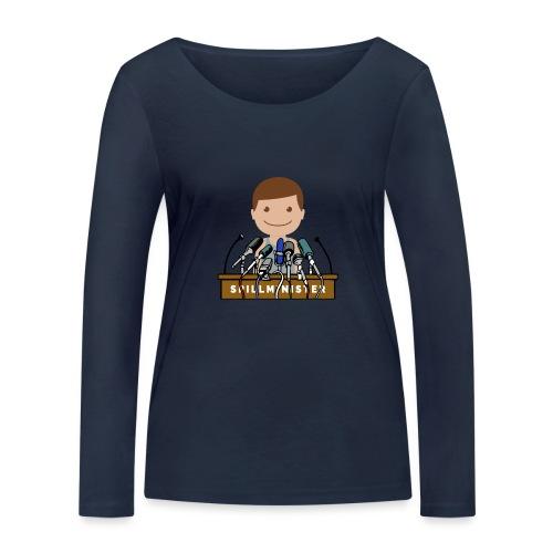 Spillminister logoen - Økologisk langermet T-skjorte for kvinner fra Stanley & Stella