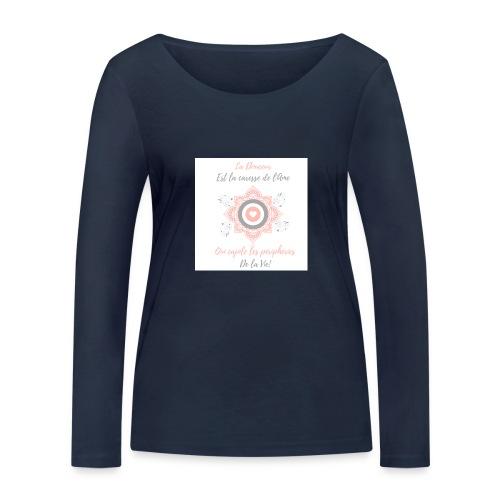 Douceur - T-shirt manches longues bio Stanley & Stella Femme